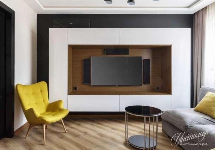 2021 ᐈ 🔥 ( 98 фото) Ниша под телевизор в современном интерьере квартиры 78 фото