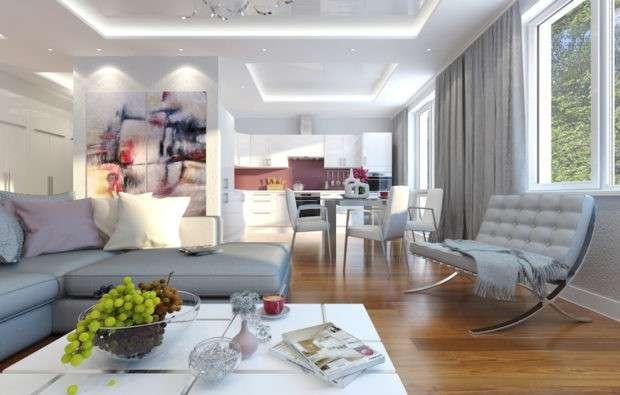 7 советов по дизайну большой комнаты в квартире фото интерьеров