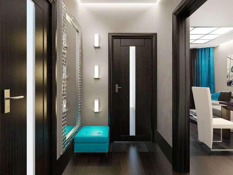 75 идей дизайна для маленького коридора: особенности оформления