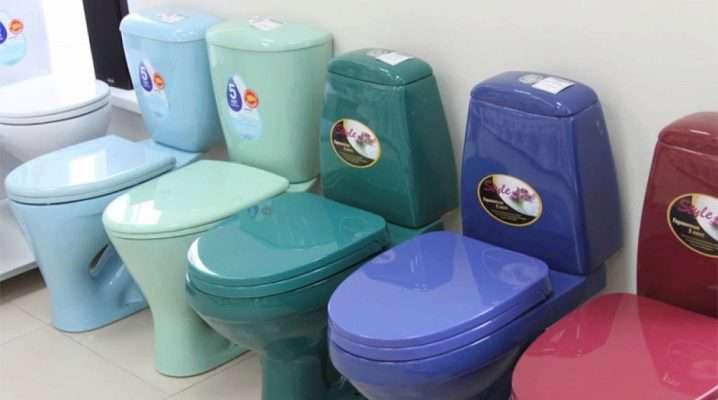 Цветные унитазы (30 фото): коричневые и зеленые, синие и голубые, розовые и серые модели, российского и зарубежного производства
