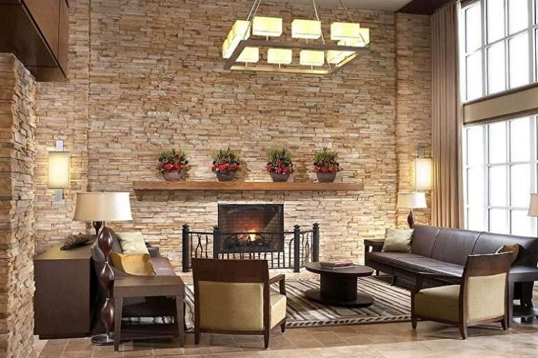 Декоративный камень в интерьере (85 фото) — красивые идеи дизайна для разных комнат