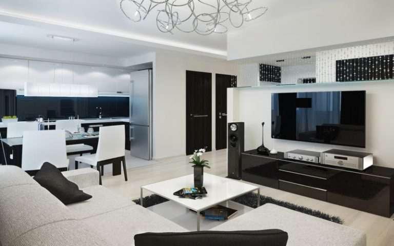 Дизайн 3-х комнатной квартиры — 115 фото новинок современного интерьера