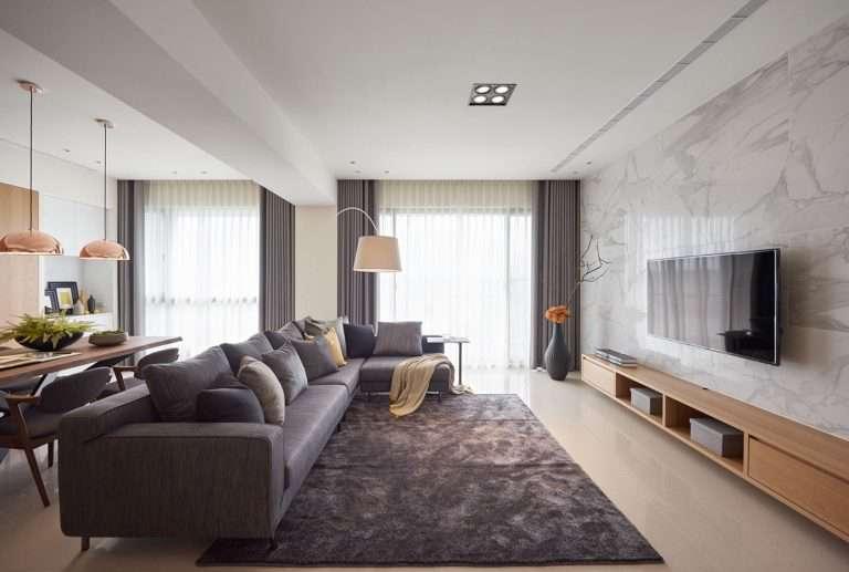 Дизайн четырехкомнатной квартиры 100 кв