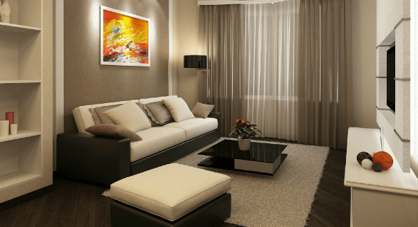 Дизайн двухкомнатной квартиры — планировки и интерьер