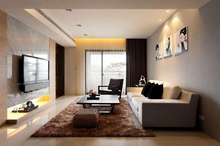 Дизайн гостиной комнаты 19 кв