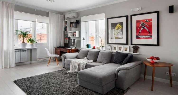 Дизайн гостиной в брежневке: варианты и особенности
