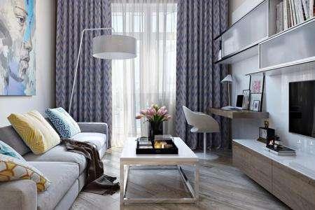 Дизайн гостиной в хрущевке — 80 фото интерьеров после ремонта, красивые идеи маленького зала