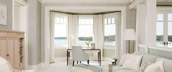 Дизайн квартиры с эркером: варианты для однокомнатной, двухкомнатной и другие с фото