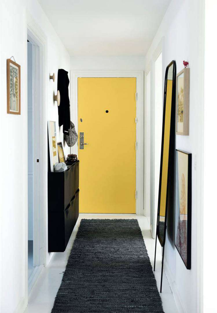 Дизайн маленькой прихожей — более 40 фото в реальных квартирах