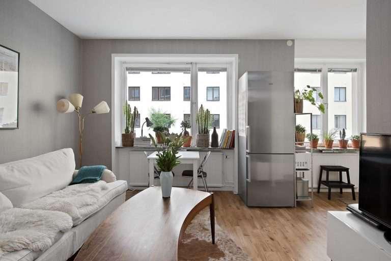 Дизайн однокомнатной квартиры-хрущевки 30 кв