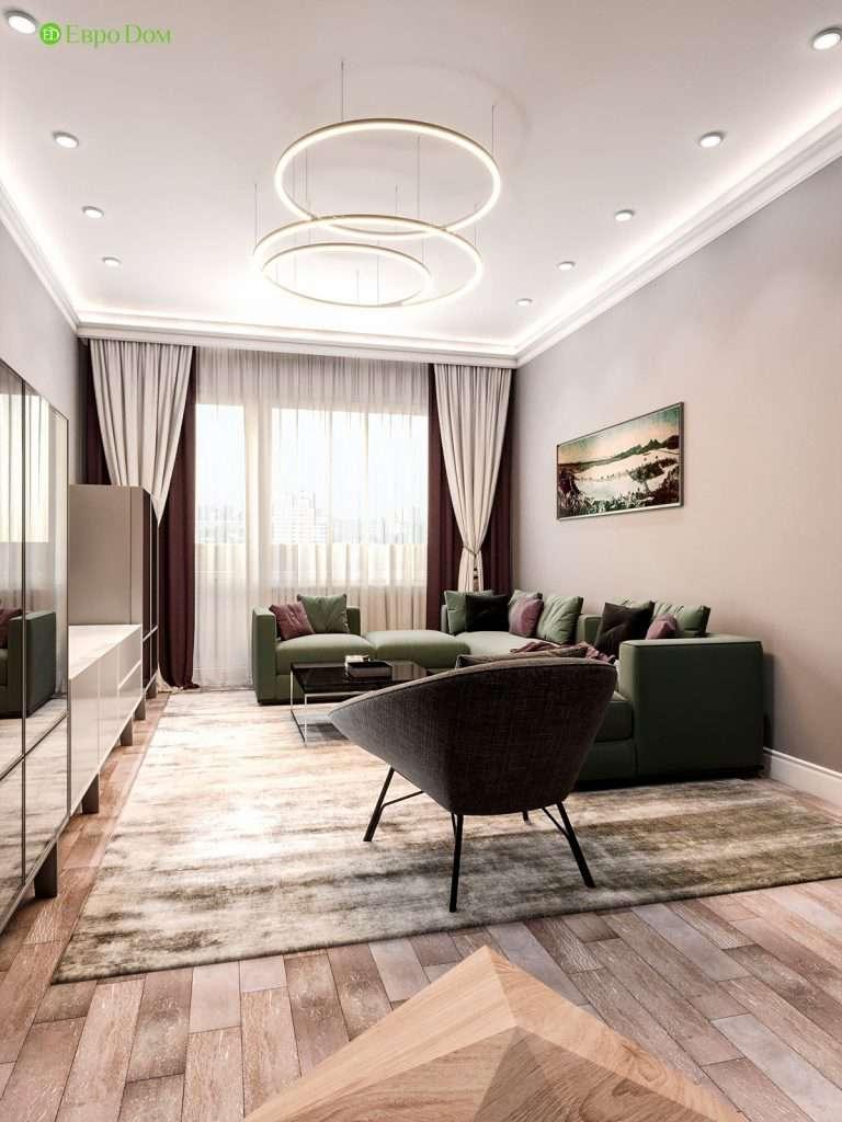Дизайн панельной двухкомнатной квартиры
