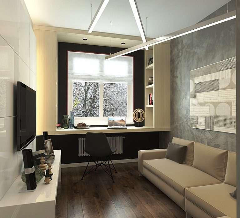 Дизайн панельной трехкомнатной квартиры