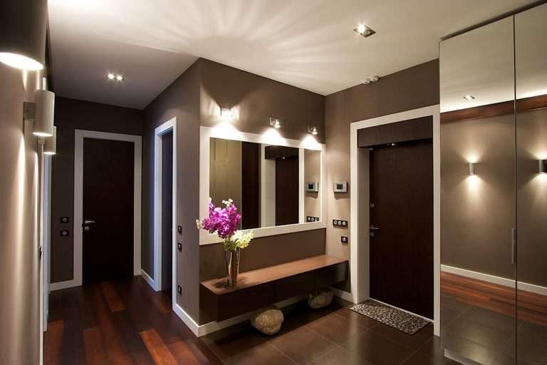 Дизайн прихожей различной планировки — 75 современных интерьеров