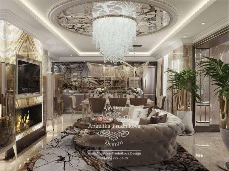 Дизайн-проект интерьера комнат в Москве | nStudio
