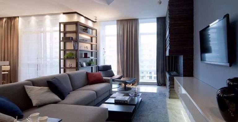 Дизайн проходной гостиной — интерьер и планировка комнаты