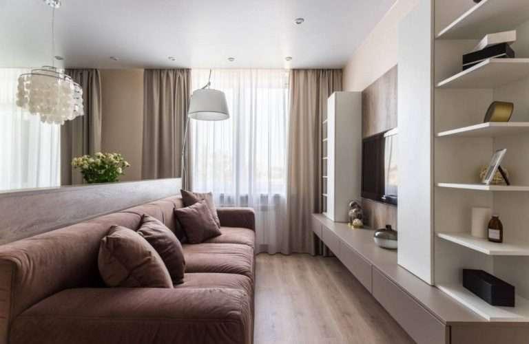 Дизайн зала | Фото новинки в квартире | Pinedesign