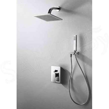 Душевые системы скрытого монтажа купить, заказать душ скрытого монтажа