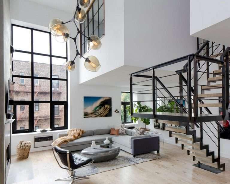 Двухуровневые квартиры: лучшие варианты дизайнерских решений