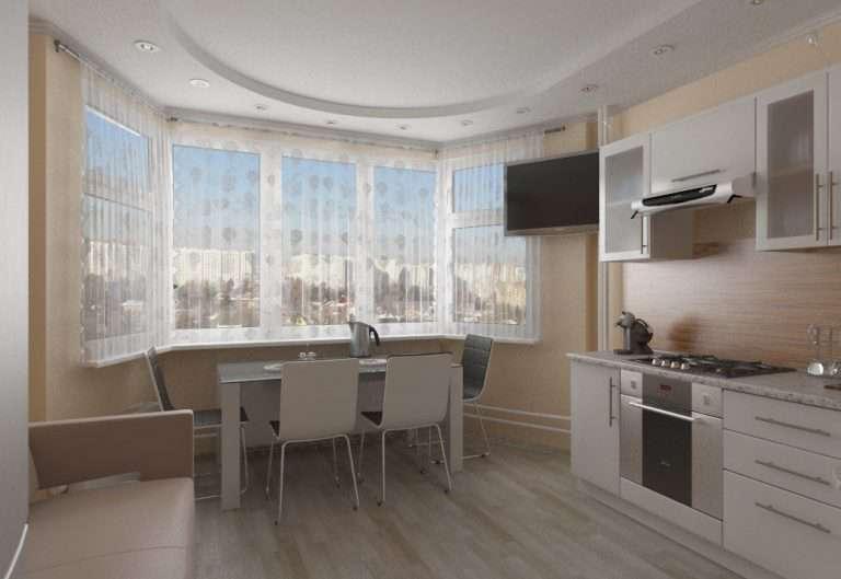 Эркер в квартире — современный дизайн интерьра 15 фото