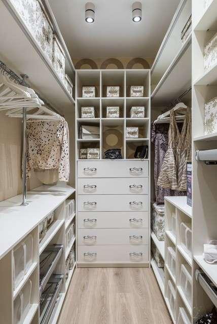 Гардеробная комната: дизайн проект (фото)