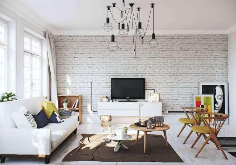 Гостиная в скандинавском стиле (18 фото), оформление и отделка