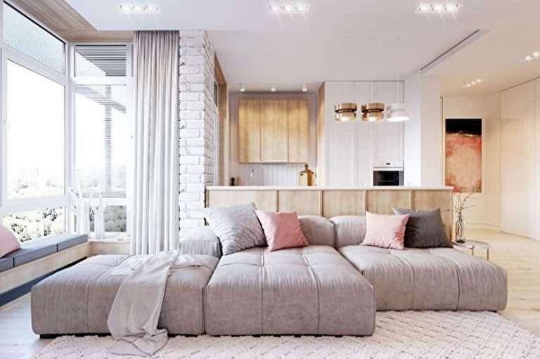 Гостиная в стиле минимализм 70 фото интерьера и дизайна