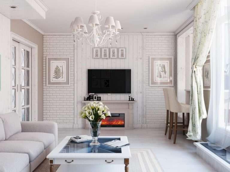 Гостиная В Стиле Прованс: 170 (Фото) Современных Дизайнов
