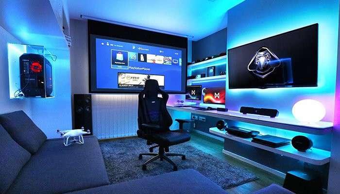 Идеи для дизайна комнаты геймера 2020   Блог