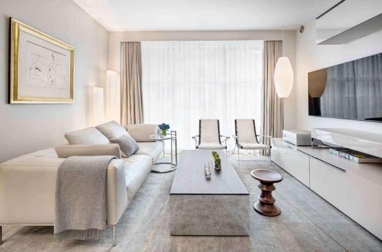 Интерьер гостиной в светлых тонах: идеи оформления дизайна, в том числе бежевых, персиковых, пастельных тонах фото