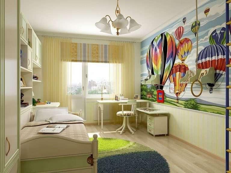 Интерьер комнаты 12 кв м, дизайн — фото примеров