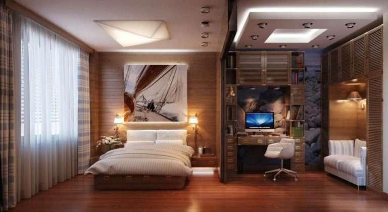 Интерьер комнаты с компьютером – вариации оптимизации пространства | Интерьерные штучки