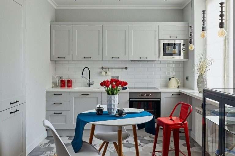 Как в однушке выделили гостиную и спальню: интерьер маленькой квартиры площадью 40 кв