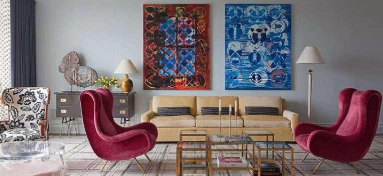 Какую картину повесить на стену – 69 примеров как подобрать картину в интерьер