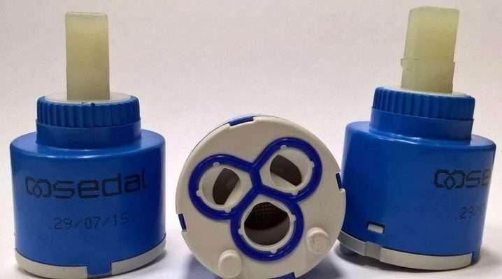 Картриджи для смесителя (40 фото): разновидности и размеры, 35 и 40 мм, какой лучше для однорычажного, Vidima и