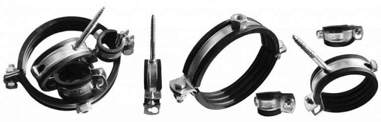 Кронштейн для труб: 70 фото приспособлений для полимерных и металлических труб