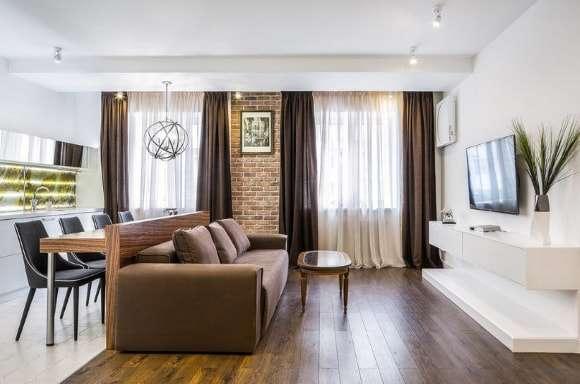 Кухня-гостиная 25 кв м (20 реальных фото): идеи дизайна и секреты зонирования