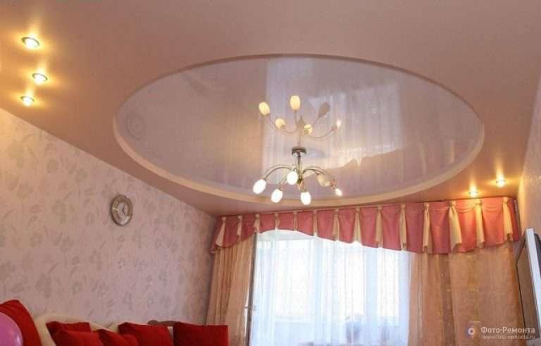 Натяжные потолки 13 фото для зала