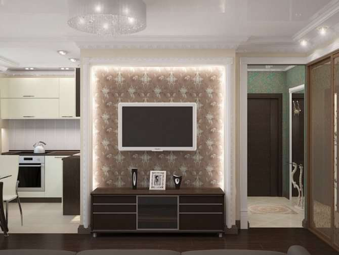 Ниша в гостиной: 90 фото красивых, функциональных ниш и способы их оформления