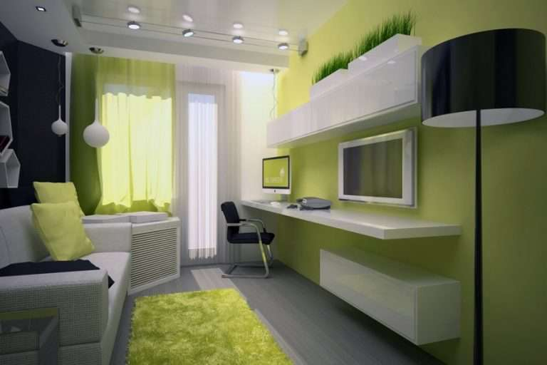 Обои для маленькой комнаты: как визуально увеличить (75 фото)