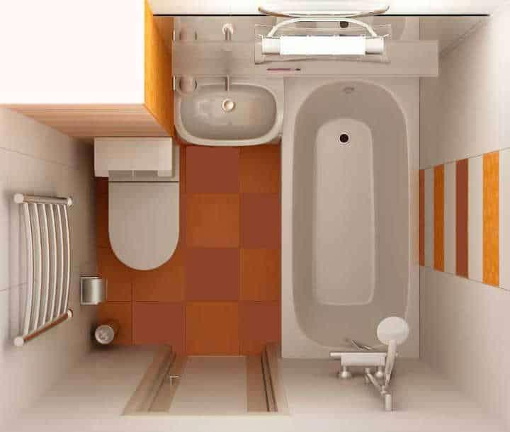 Перепланировка ванной комнаты, санузла и туалета: в панельном доме, хрущевке