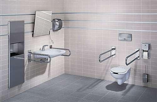Приспособления для инвалидов и пожилых людей: поручни для ванной и туалета, смеситель, подъемник, стул, ванна с дверцей, фото