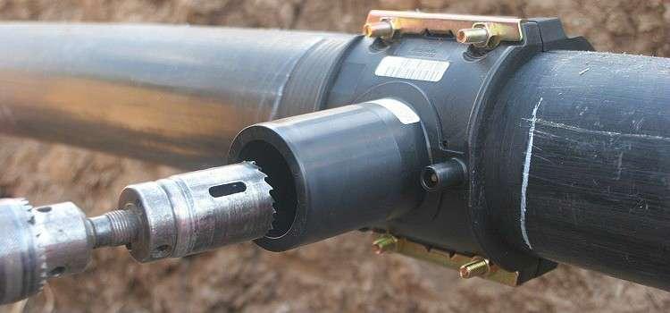 Седелка для врезки в водопровод: монтаж, виды, устройство