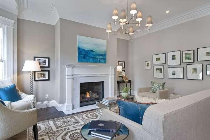 Серая гостиная: 100 фото выбора мебели, дизайна пола, стен и потолка в сером