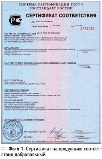 Сертификация сантехники