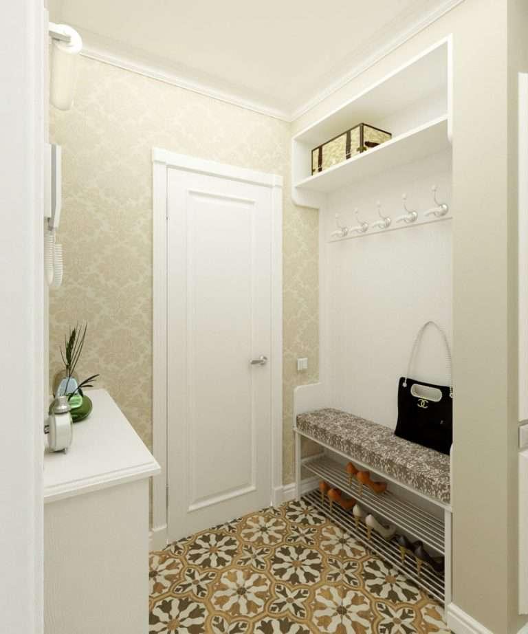 Современный дизайн узкого коридора