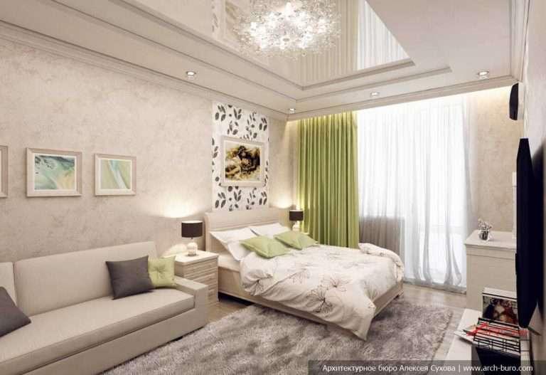 Спальня-гостиная 18 кв