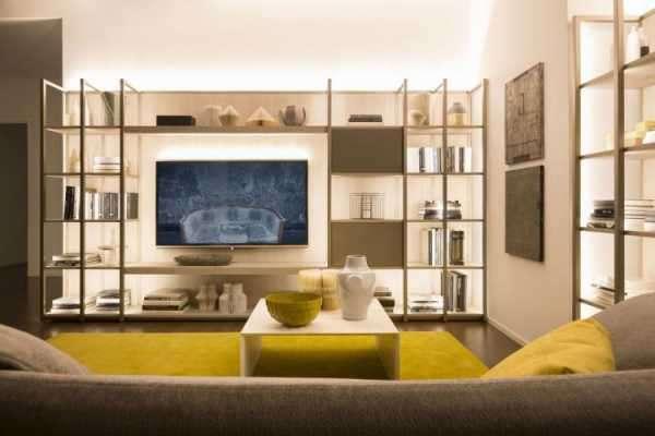 Телевизор на стене — 95 фото правил расположения и красивых идей оформления места для современного телевизора