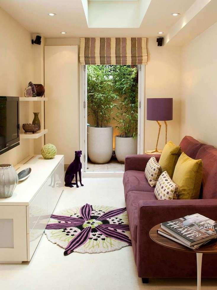 Узкая гостиная — фото лучших дизайнерских решений в интерьере гостиной
