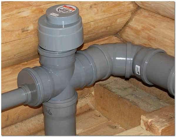 Вакуумный клапан для канализации: принцип работы и правила монтажа