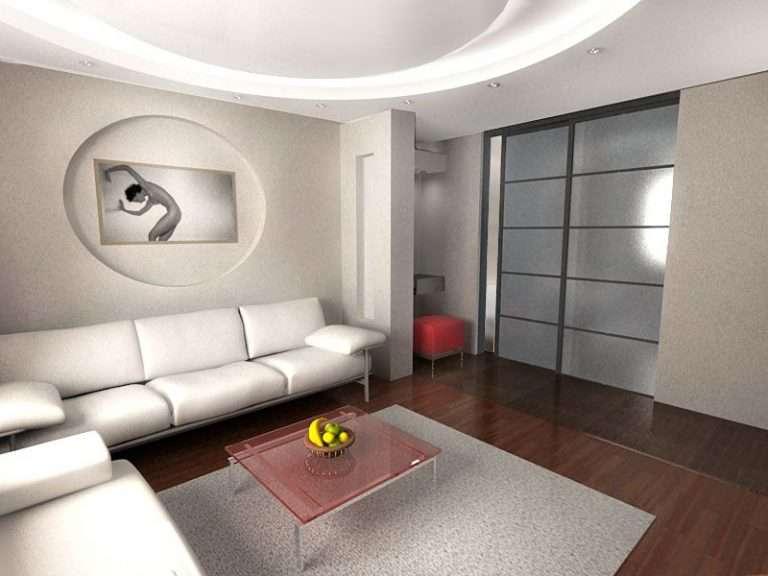 Выбираем интерьер зала в квартире: функциональные решения, фото
